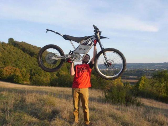 LMX 161 world's lightest freeride motorcycle (2)