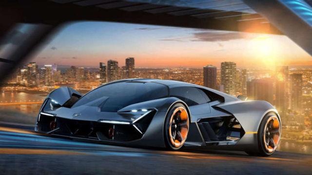 Lamborghini Terzo Millennio EV supercar concept