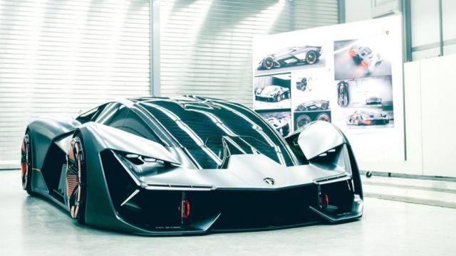 Lamborghini Terzo Millennio EV supercar concept (2)