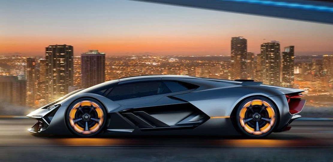 Lamborghini Terzo Millennio EV supercar concept (1)