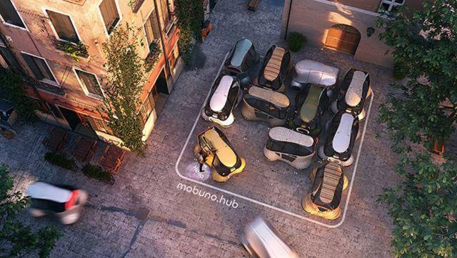 Mobuno – Urban Mobility concept (2)