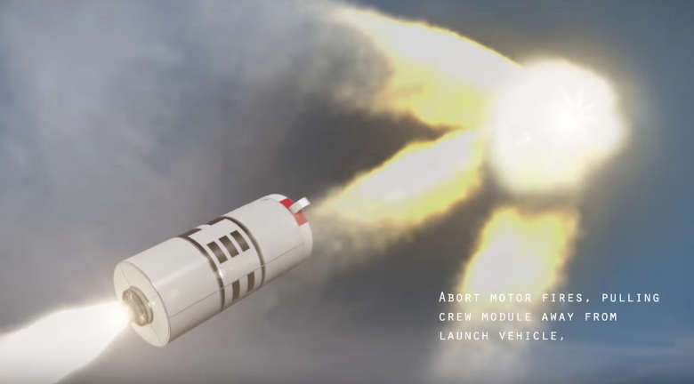 NASA's Ascent Abort-2 Test of Orion