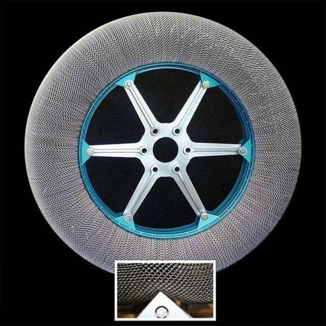 NASA's new shape shifting Tire