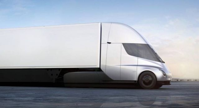 Electric Tesla Semi Truck (8)