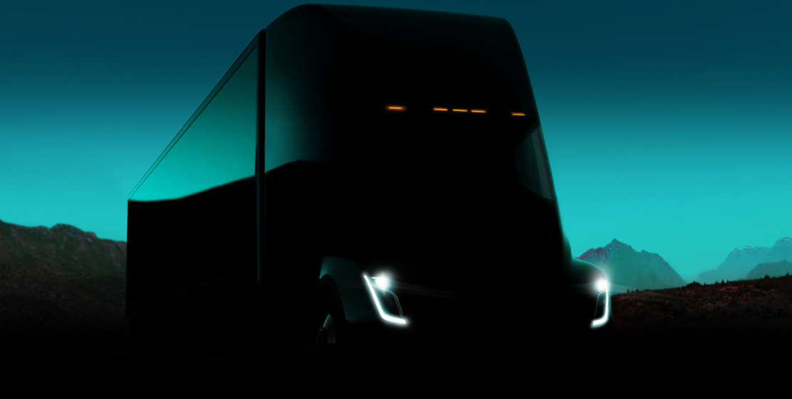 Electric Tesla Semi Truck (1)