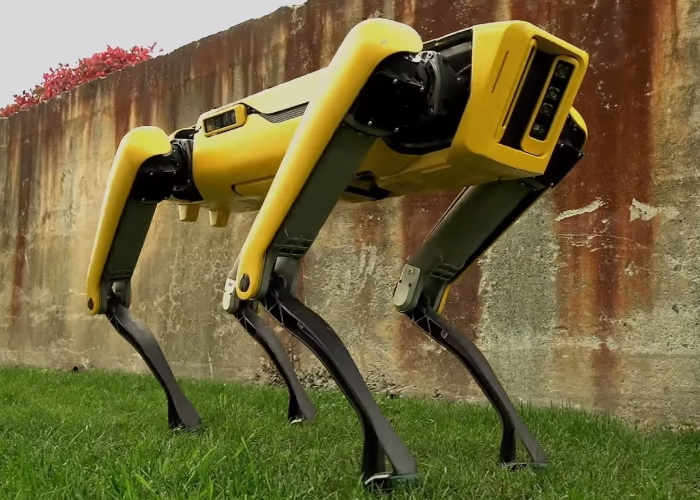 New SpotMini Robot unveiled