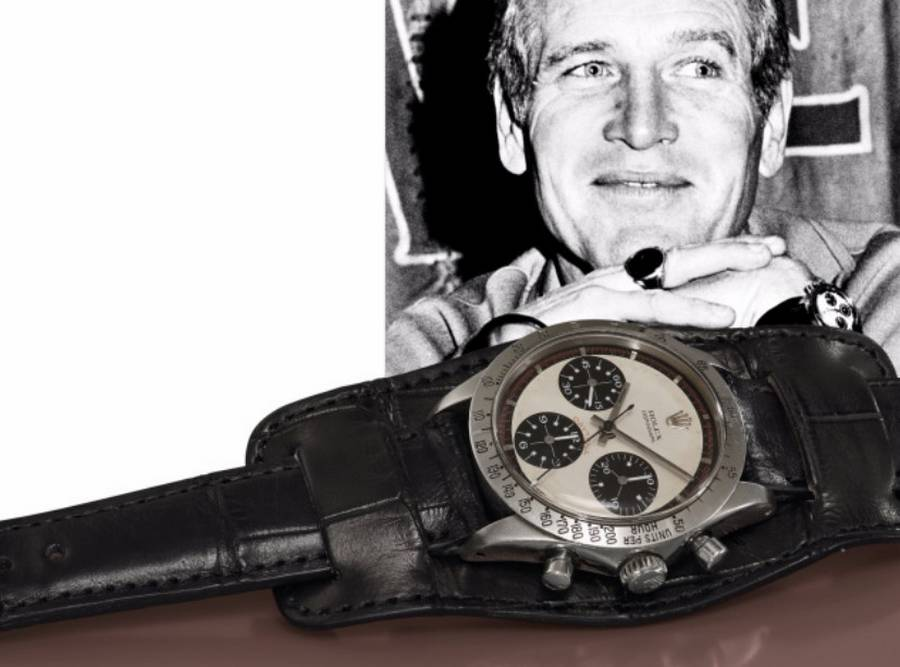 Paul Newman's Rolex Daytona watch sold for $17.75 million