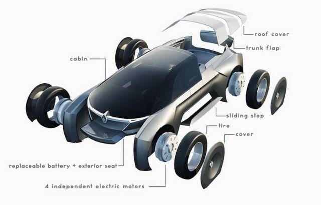 Renault Subtil luxurious PickUp (2)