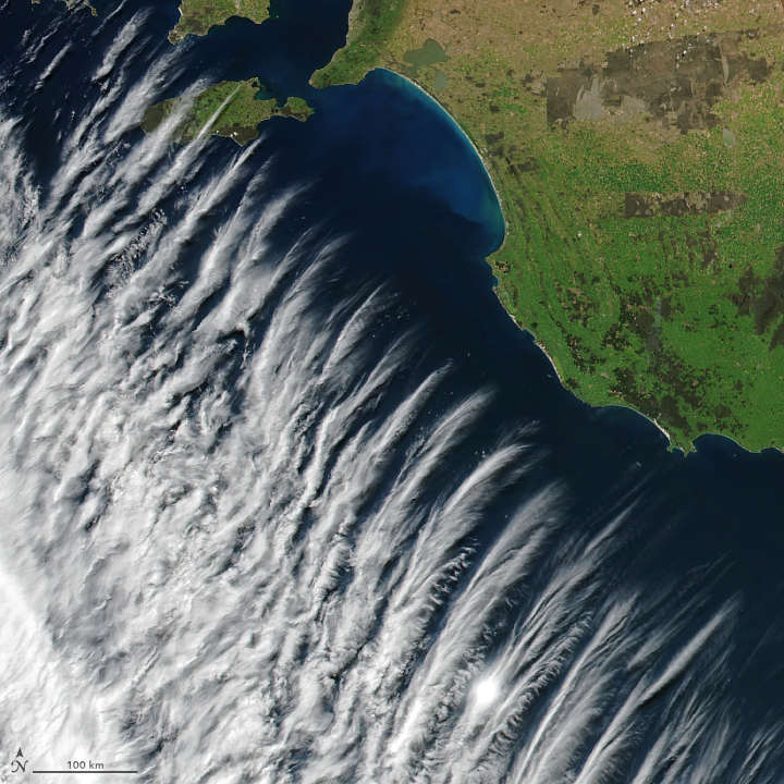 Stunning Clouds near Australia