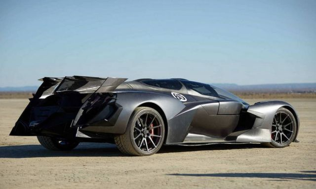 Tachyon Speed Electric supercar