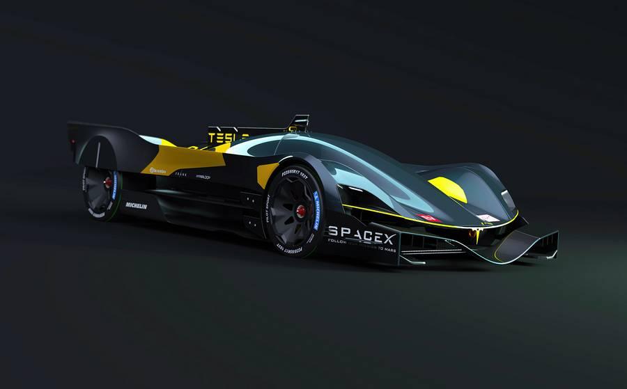 Tesla Le Mans 2030 car concept (9)