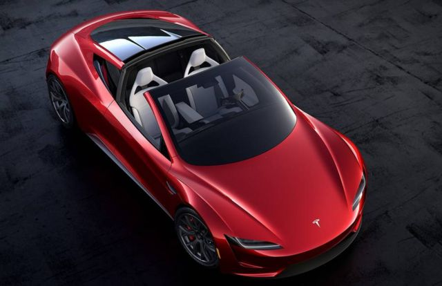 Tesla Roadster Electric supercar (7)