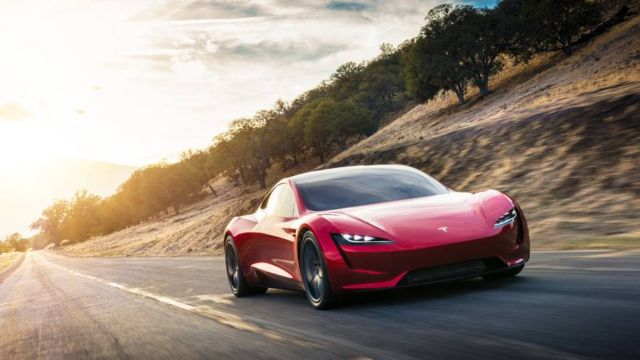 Tesla Roadster Electric supercar (6)