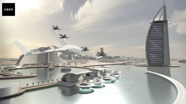Uber gets NASA to create flying taxis (4)