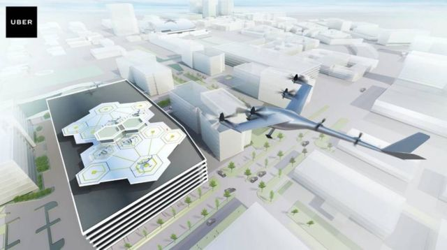 Uber gets NASA to create flying taxis (3)