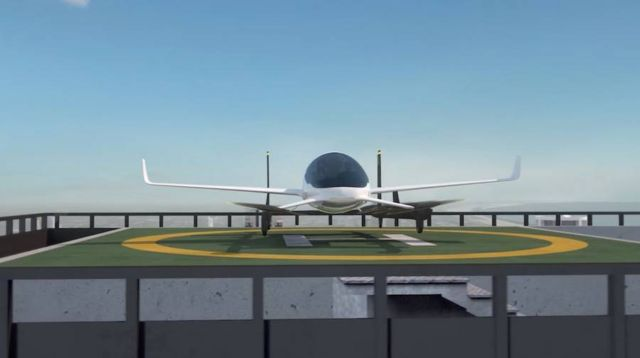 Uber gets NASA to create flying taxis (1)