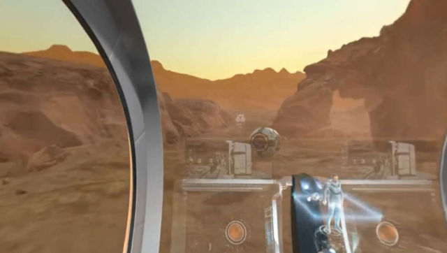 VR Tour of the First City on Mars