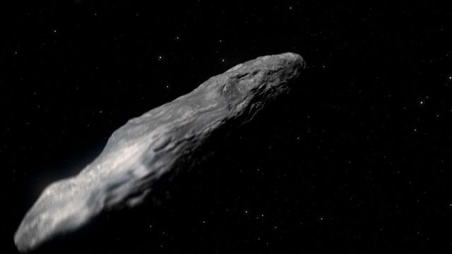 An Interstellar Asteroid just flew past Earth