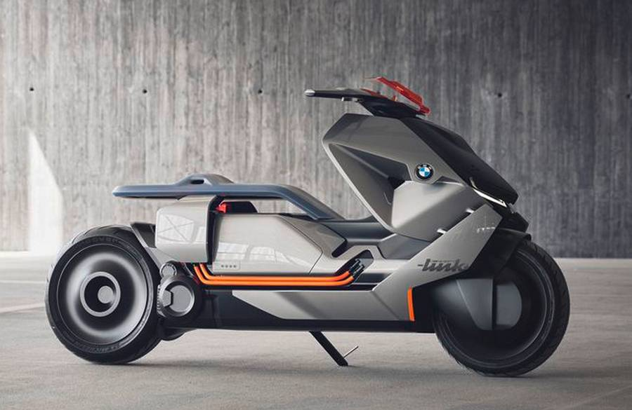 BMW Smart electric Scooter concept (4)