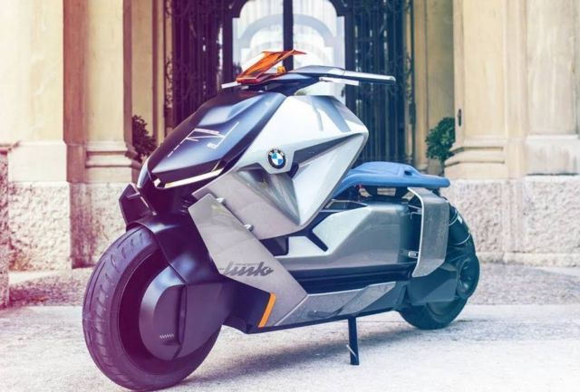 BMW Smart electric Scooter concept (2)