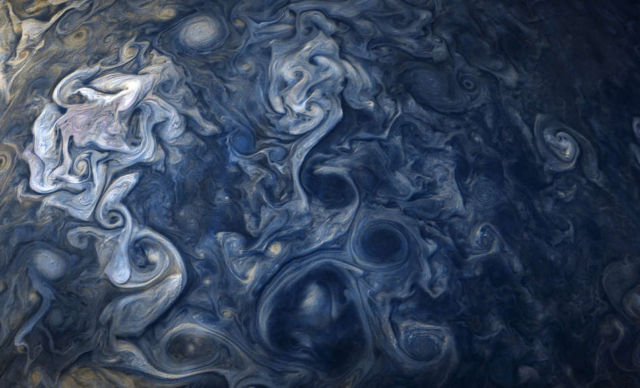 Clouds on Jupiter