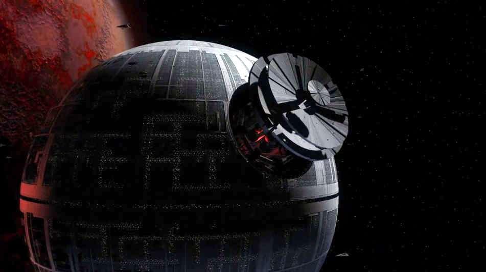 Death Star Construction - timelapse