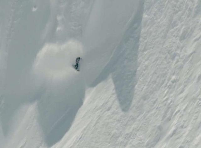 Depth Perception Snowboarding