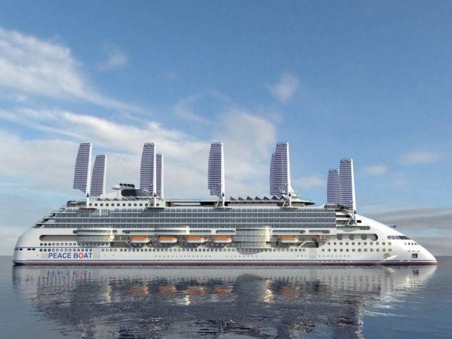 Ecoship cruise liner