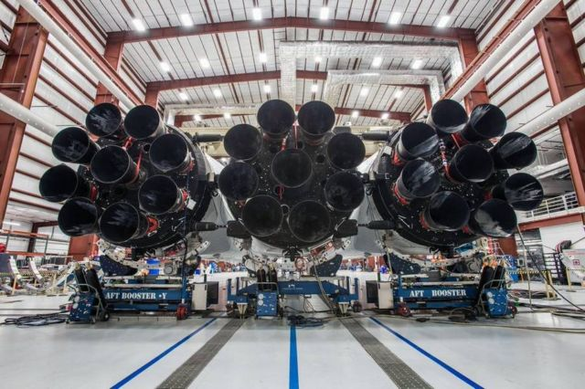 Falcon Heavy Rocket new images