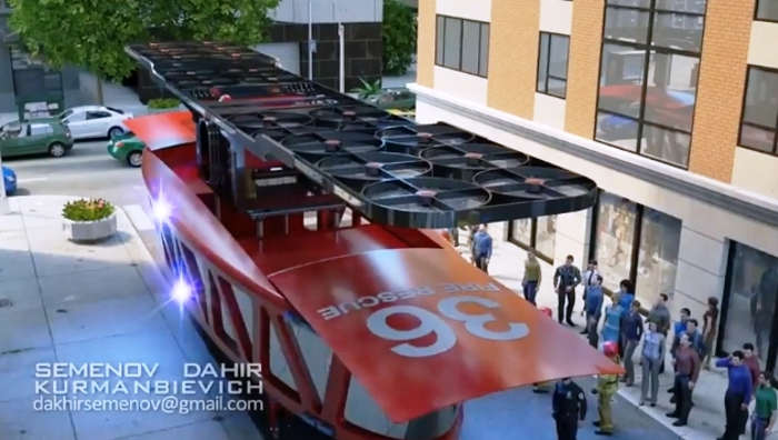 Gyroscopic Firetruck of the future