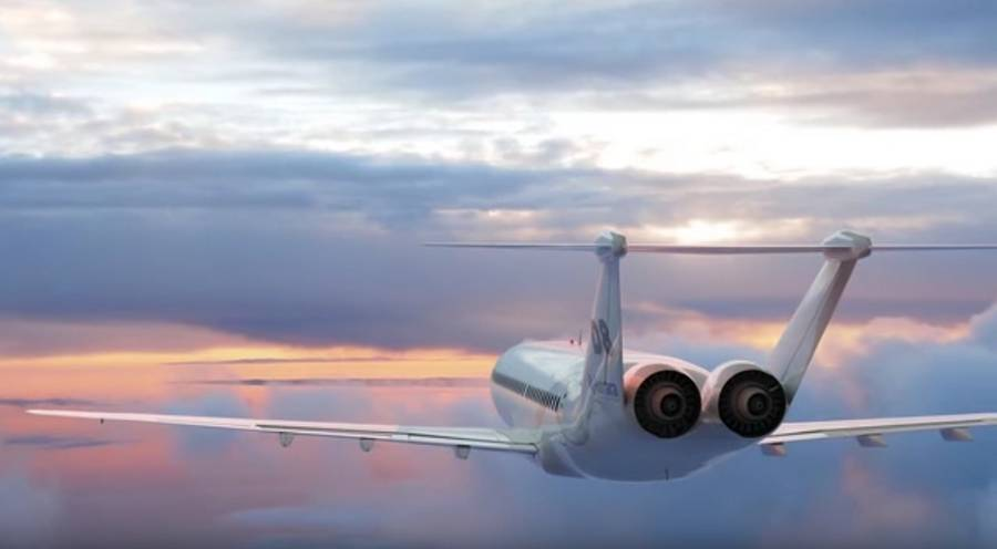 Inside Look at the D8 at commercial aircraft concept