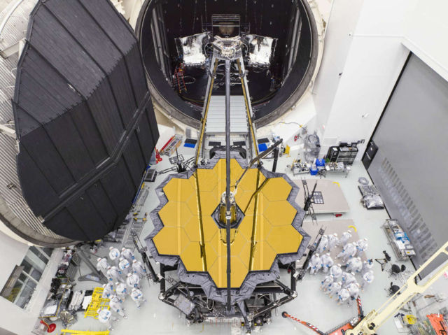 James Webb telescope is closer to Launch