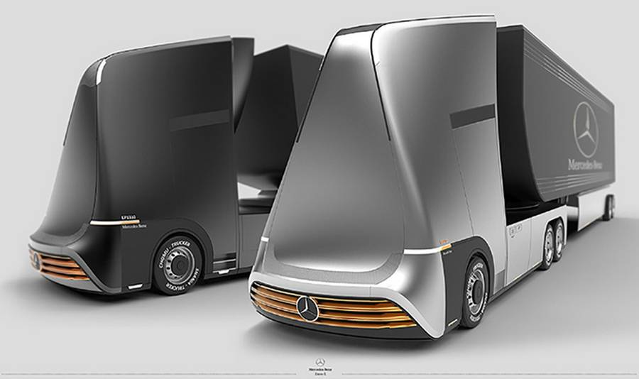 Mercedes-Benz Euro-X semi autonomous truck (8)