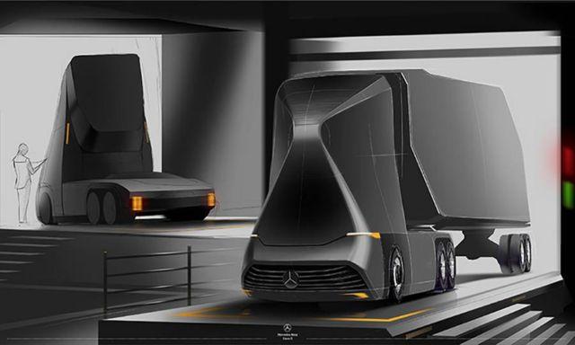 Mercedes-Benz Euro-X semi autonomous truck (7)