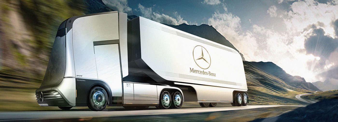 Mercedes-Benz Euro-X semi autonomous truck (1)