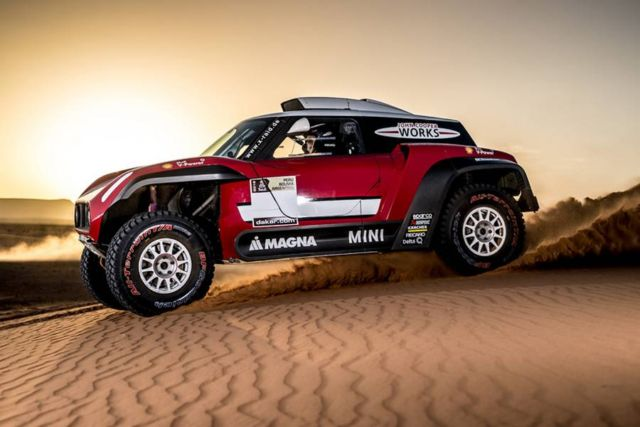 Mini unveils new buggy for 2018 Dakar Rally