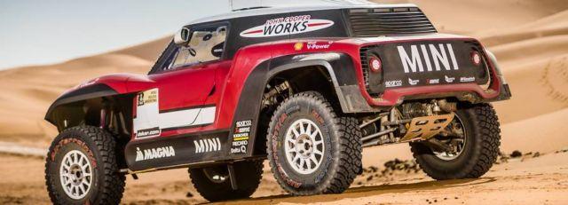 Mini unveils new buggy for 2018 Dakar Rally (7)