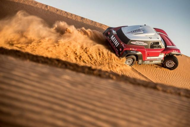 Mini unveils new buggy for 2018 Dakar Rally (6)