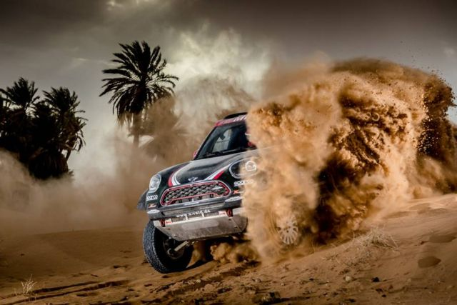 Mini unveils new buggy for 2018 Dakar Rally (5)