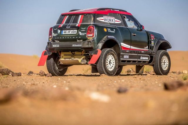 Mini unveils new buggy for 2018 Dakar Rally (4)