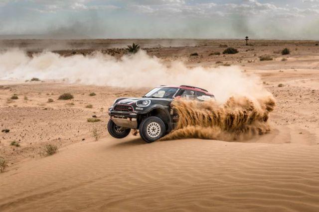 Mini unveils new buggy for 2018 Dakar Rally (2)