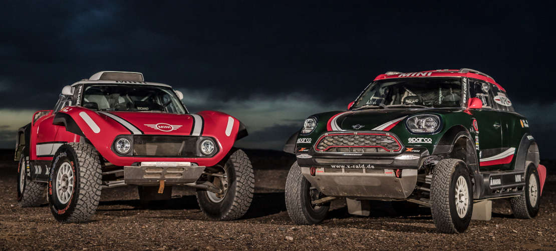 Mini unveils new buggy for 2018 Dakar Rally (1)