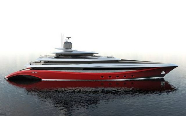 NYX 75-metres Superyacht concept