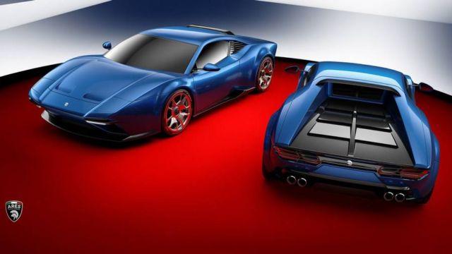 Project Panther- a Lamborghini into a DeTomaso Pantera (3)