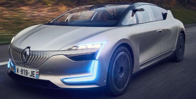 Renault Symbioz autonomous electric