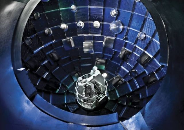 Laser-driven technique for creating Fusion