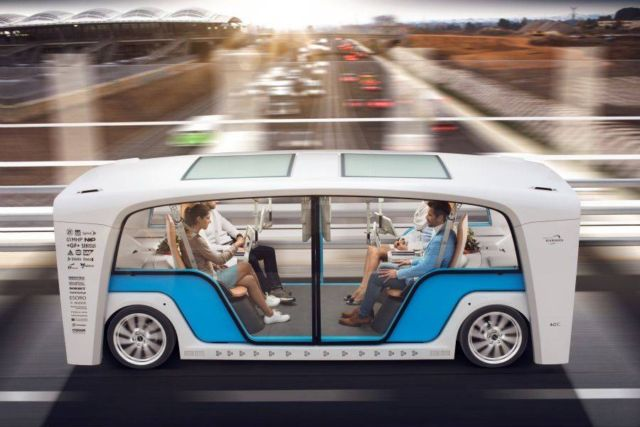 Rinspeed Snap self-driving cars
