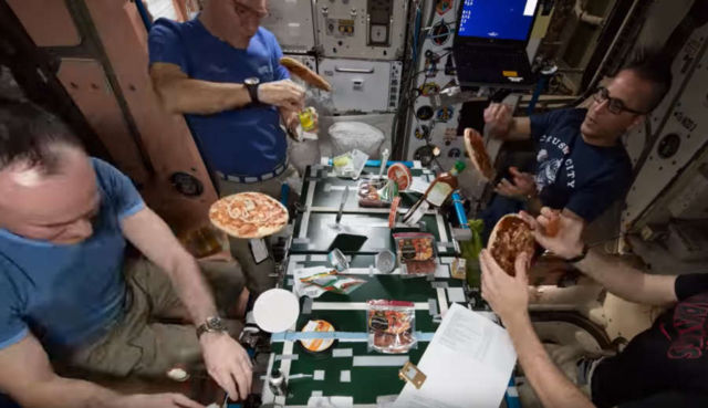Space Pizza night