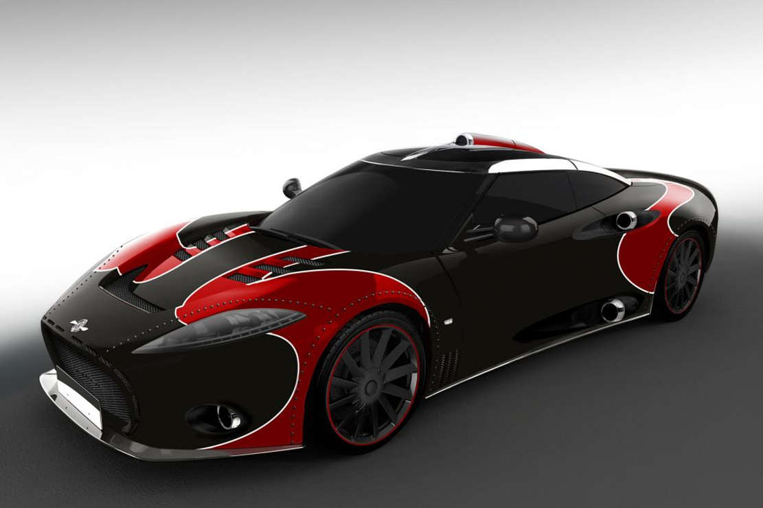 Spyker C8 Aileron LM85 (1)