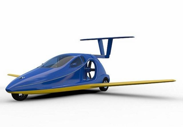 Switchblade street legal Flying car